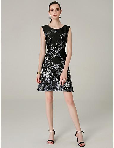 رخيصةأون وصل حديثًا-عامودي جوهرة قصير منافذ نوعUSB حفلة كوكتيل فستان مع طيات بواسطة TS Couture®