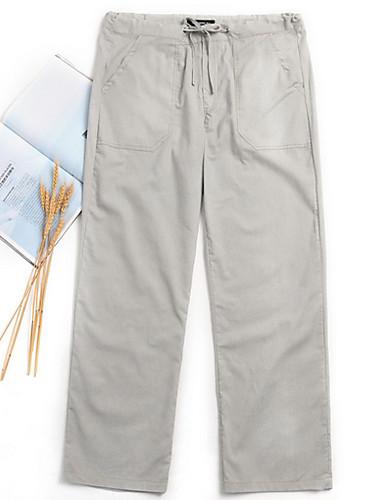 Erkek Temel Chinos Pantolon - Solid Ordu Yeşili Gri Haki US36 / UK36 / EU44 US38 / UK38 / EU46 US40 / UK40 / EU48