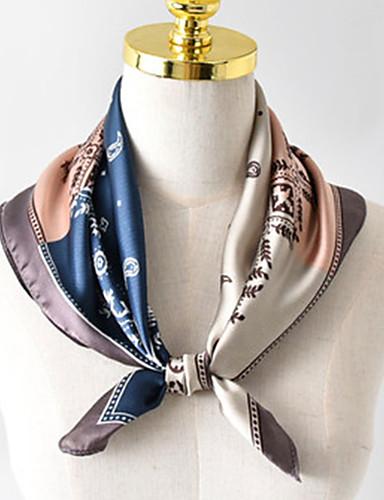 abordables Accessoires Femme-Femme / Unisexe Soirée / Travail / Le style mignon Foulard Carré Bloc de Couleur