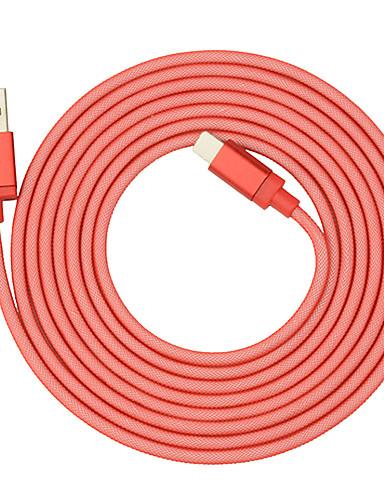usb type-c podatkovni kabel 6.5ft / 2m ribarska mreža pletenica 3a kabel za punjenje telefona