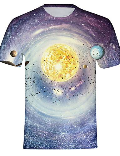 Erkek Tişört Galaksi Havuz