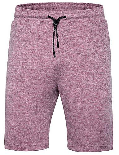 Erkek Temel Şortlar Pantolon - Solid Açık Gri Havuz YAKUT US34 / UK34 / EU42 US36 / UK36 / EU44 US40 / UK40 / EU48