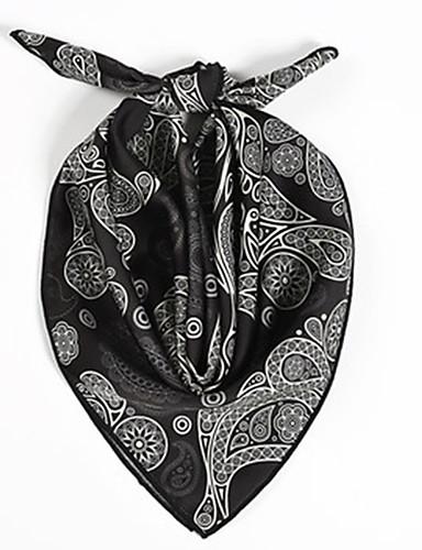 abordables Accessoires Femme-Femme / Unisexe Le style mignon Foulard Carré Imprimé