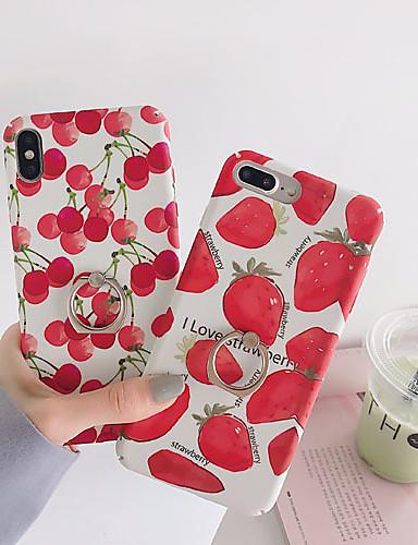 Pouzdro Uyumluluk Apple iPhone XS / iPhone XR / iPhone XS Max Dikkat Çarkları / Satandlı / Temalı Arka Kapak Yiyecek / Karton PC