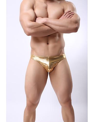 voordelige Herenondergoed & Zwemkleding-Standaard G-string ondergoed Heren Lage Taille
