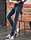 preiswerte Herren-Hosen und Shorts-Herren Sweatpants-Einfarbig Freizeit Baumwolle Blau
