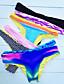 abordables Biquinis y Bañadores para Mujer-Mujer Deportes Partes Inferiores - Novedad, Bloques Halter