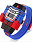 baratos Relógios da Moda-Mulheres Infantil Relógio de Moda Quartzo Digital LED Impermeável Relógio Casual Borracha Banda Azul Vermelho Cinza AmareloCinzento