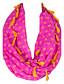 billige Uendelighedshalstørklæde-Damer Vintage / Sødt / Fest / Casual Øvrigt / Polyester Halstørklæde-Trykt mønster Uendelighedshalstørklæde