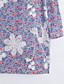 billige Skjorte-Krave Dame - Broderi Bomuld, Blomst Gade Skjorte