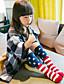女の子 カジュアル/普段着 ストライプ コットン-下着&靴下-秋 キャラクター