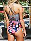 halpa Bikinit ja uima-asut 2017-NaistenYksiosainen Colorblock Bandeau Color Block
