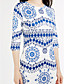 cheap Women's Dresses-Women's Going out Street chic Bodycon Dress Print
