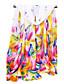 Naiset Neliskulmainen,Painettu Kevät Syksy Sifonki