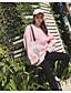 preiswerte Damen Kapuzenpullover & Sweatshirts-Damen Pullover Sport Lässig/Alltäglich Ausgehen Einfach Aktiv Boho Solide Rundhalsausschnitt Fleece-Futter Mikro-elastisch Baumwolle