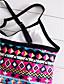cheap Women's Swimwear & Bikinis-Women's Boho Halter Tankini - Floral