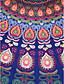abordables Toalla de Playa-Mujer Boho Toalla de Playa - Estampado, Tribal