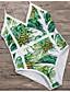 povoljno Bikini i kupaći 2017-Žene Jednodijelno - Geometrijski oblici, Cheeky gaćice Print
