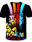 hesapli Erkek Tişörtleri ve Atletleri-Erkek Tişört Desen, 3D / Karton / Kuru Kafalar Sokak Şıklığı / Abartılı Gökküşağı