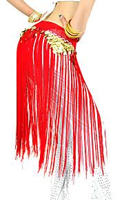 Танец живота Пояс Жен. Выступление Полиэстер С кисточками Набедренная повязка для танца живота не включена / Представления
