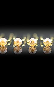 Pierre Précieuse & Cristal Cristal Tissu Alliage Diadèmes Casque Épingle à cheveux with Cristal 1 Mariage Occasion spéciale Fête / Soirée