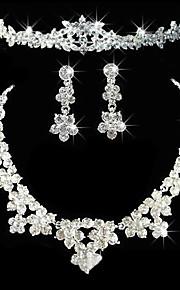 בגדי ריקוד נשים אחרים סט תכשיטים עגילים / שרשראות / נזרים - רגיל עבור חתונה / Party / יוֹם הַשָׁנָה