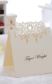 Kort Papir Bordkort PVC Veske 12