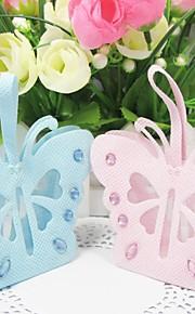 Baby Shower / Bursdag Fester og gaver-12Stykke/Sett Favoritt Vesker Strass Ikke-vevet Stoff Hage Tema / Sommerfugl Tema Ikke-personalisert