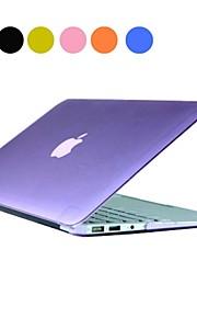 """Sólido estuche rígido de la PC del color con el cristal para el MacBook Air de 13 """"(variedad de colores)"""