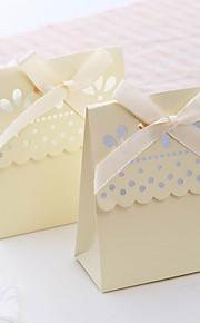 Créatif Papier durci Titulaire de Faveur avec Ruban Boîtes à cadeaux