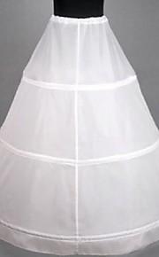 Cérémonie de mariage Occasion spéciale Déshabillés Ras du Sol Robe trapèze Avec