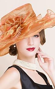 Chapeau Casque Mariage/Occasion spéciale Organza Femme Mariage/Occasion spéciale 1 Pièce