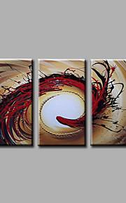 Hang-роспись маслом Ручная роспись - Абстракция Modern холст