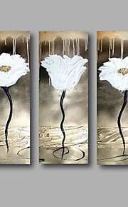 Hang-роспись маслом Ручная роспись - Цветочные мотивы / ботанический Modern холст