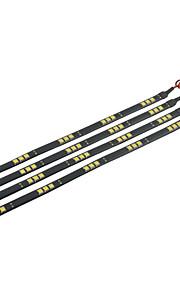 4pcs Automatisch Lampen 2.2W SMD 5050 15 Verlichtingsstrip