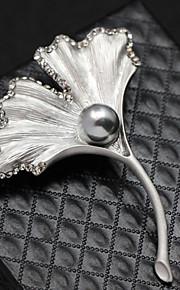 Dames Kristal Broches - Kristal Modieus Broche Zilver / Gouden Voor Bruiloft / Feest / Dagelijks