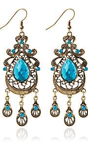 Damen Tropfen-Ohrringe - Modisch Blau Anderen Ohrringe Für Hochzeit