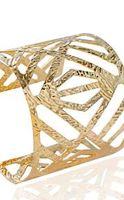 Dame Manchetarmbånd Mode Legering Tubeformet Smykker Bryllup Fest Daglig Afslappet Kostume smykker