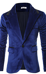 Men's Blazer - Solid, Sequins