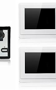 800 x 480 85 to 92 degrees CMOS campanello sistema Con fili Fotografato / Multifamiliare campanello video