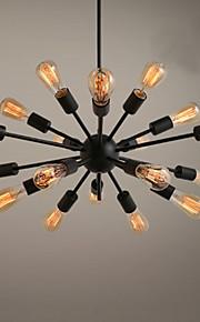 Ecolight™ Spoutnik Lustre Lumière d'ambiance - Designers, 110-120V / 220-240V Ampoule non incluse / 30-40㎡ / E26 / E27