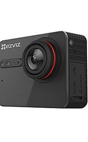 EZVIZ Action Kamera / Sportskamera 30fps Nej 2 CMOS 8 GB H.264 Enkeltfoto Uafbrudt fotografering 30 M