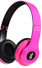 P24 Op het oor Draadloos Hoofdtelefoons Dynamisch Muovi Mobiele telefoon koptelefoon Met volumeregeling met microfoon Geluidsisolerende