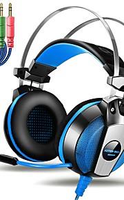 KOTION EACH GS500 Over Oor Hoofdband Bekabeld Hoofdtelefoons Piëzo-elektriciteit Muovi Gaming koptelefoon Met volumeregeling met