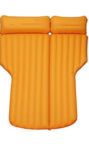 Car Matras Dubbel (200 x 200cm) Enkel (150 x 200cm)(cm)PVC draagbaar Comfortabel Verstelbaar Opblaasbaar