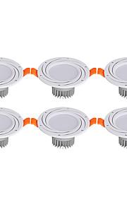 3 W 6 LEDs Εύκολη Εγκατάσταση Χωνευτό LED Χωνευτό Σποτ Θερμό Λευκό Ψυχρό Λευκό AC 85-265V