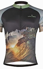ILPALADINO Hombre Manga Corta Maillot de Ciclismo Cráneos Bicicleta Camiseta    Maillot Top Secado rápido Resistente a8749fc2bee31