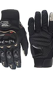 pro-biker unisex uhlíkové vlákno motocykl rukavice cyklistické kolo závodní rukavice motocykl plný prst protiskluzové rukavice