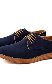 61 Pánské Společenské boty Kůže   Semiš Jaro   Podzim Na běžné nošení  Oxfordské Chůze Hnědá   5321237cb7