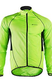 Nuckily Men's Cycling Jacket Bike Jacket / Windbreaker / Raincoat Waterproof, Quick Dry, Windproof Patchwork Polyester Green Bike Wear